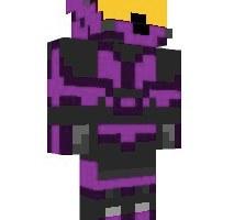 minecraft skin inspirada no castle crashers feita por mim d
